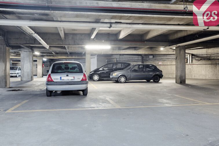 Parking Ménilmontant - Jardin des Amandiers sécurisé