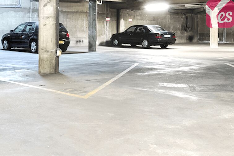 Parking Ménilmontant - Jardin des Amandiers 70 rue des Panoyaux