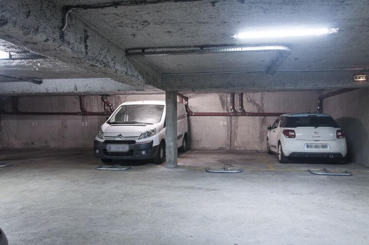 Parking Marcadet sécurisé