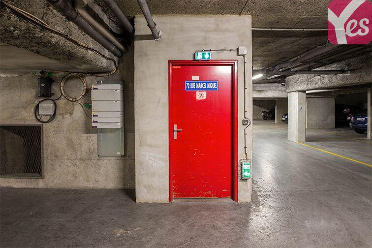 Parking Issy-les-Moulineaux - rue Marcel Miquel Issy-les-Moulineaux