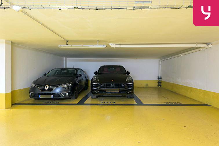 Parking Courbevoie - Hôtel de ville - Victor Hugo souterrain
