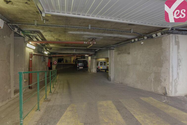 Parking Colbert - Hôtel de la Région - Marseille caméra