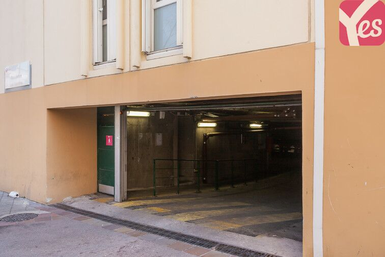 Parking Colbert - Hôtel de la Région - Marseille garage