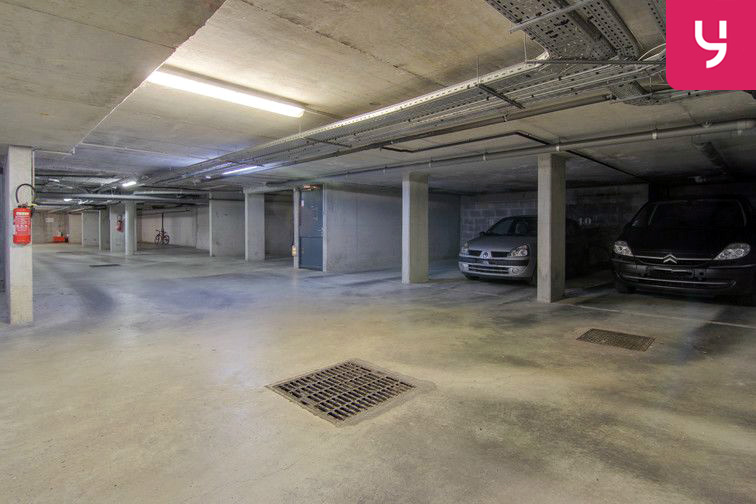 Ce parking est idéal pour garer sa voiture en toute sécurité