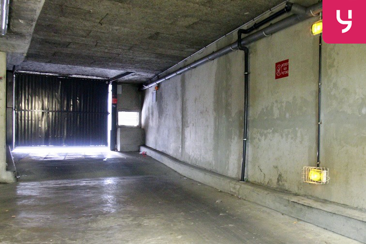 Parking Jourdain - Télégraphe caméra
