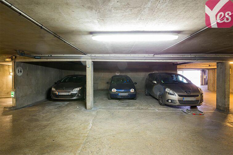 Parking Quai du Président Paul Doumer souterrain