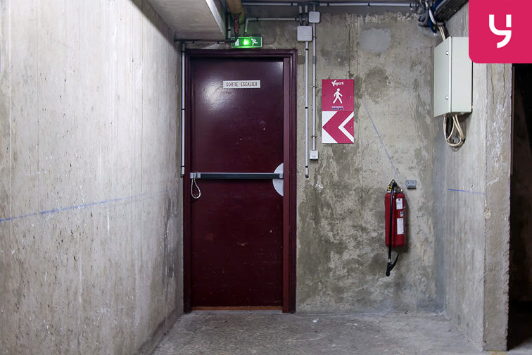 Parking Marcadet (place double) sécurisé