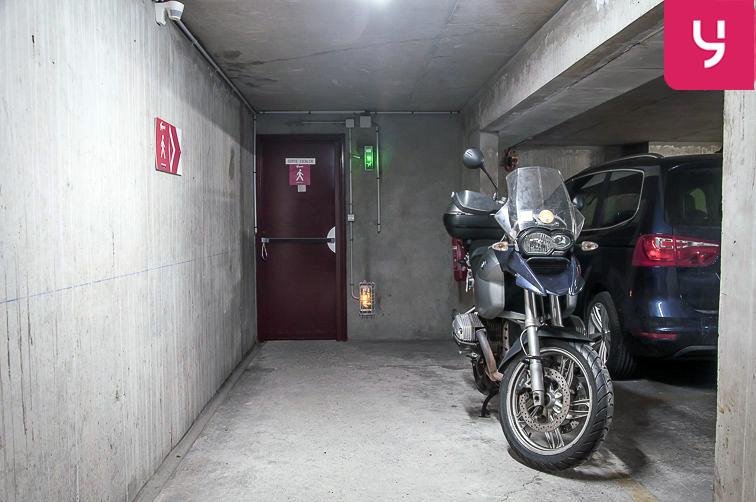 Parking Marcadet (place double) caméra