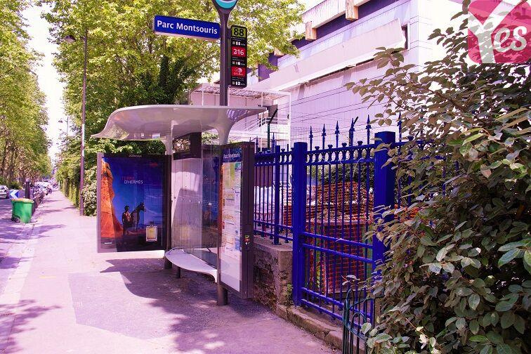 Parking Parc Montsouris - René Coty (place moto) location mensuelle