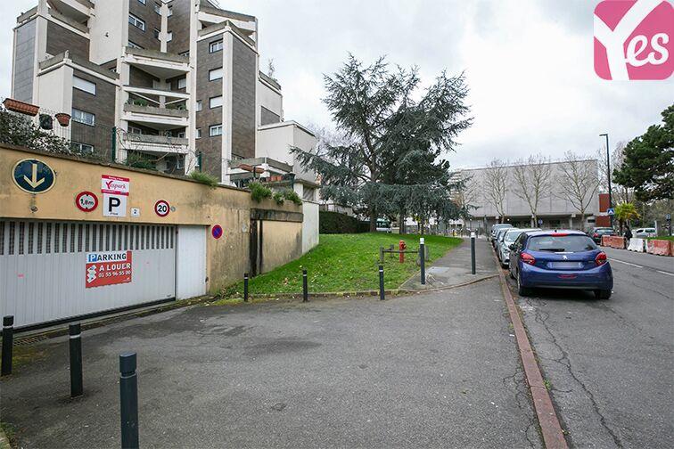 Parking Val de Fontenay - RER location