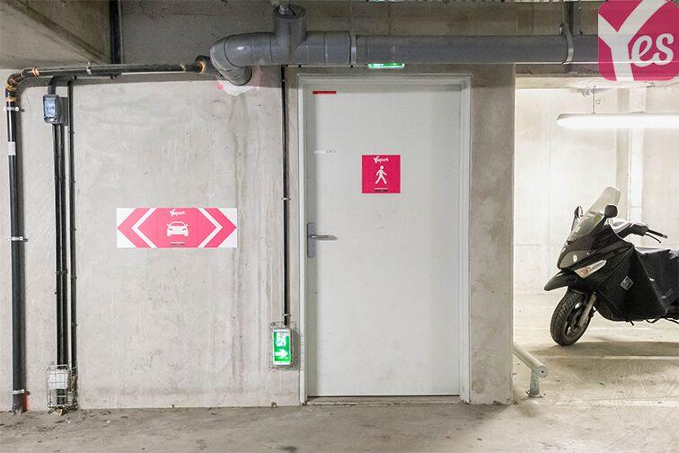 Parking Emile Zola - Pierrefitte-sur-Seine souterrain
