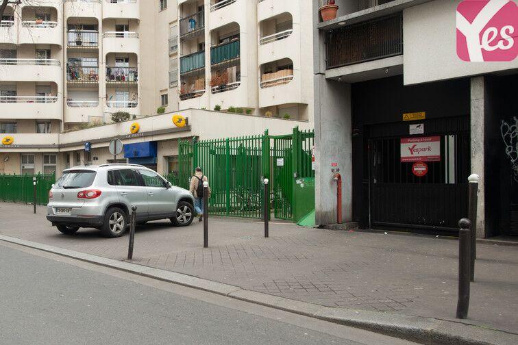 Parking Crimée Paris