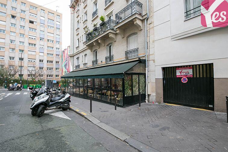 Parking Couronnes - Moulin Joly box