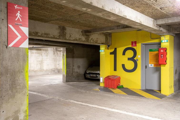 Parking Rue Emile Duport - Gare de Vaise - Lyon 69009