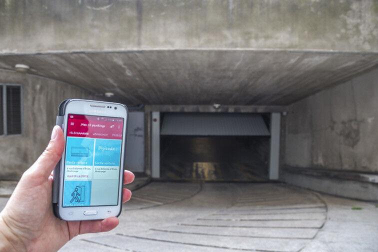 location parking Gare d'Achères ville - Rue Jean Moulin - Achères