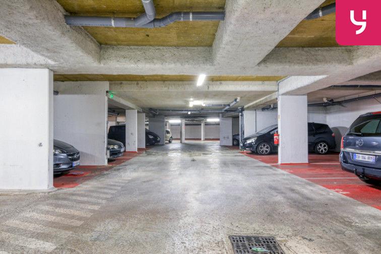 Parking Sevran - Rougemont - Charcot (place moto) caméra