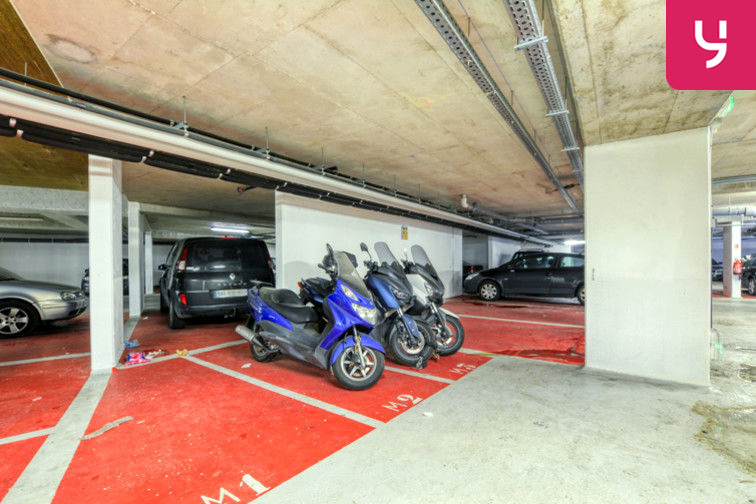 Parking Sevran - Rougemont - Charcot (place moto) 93270