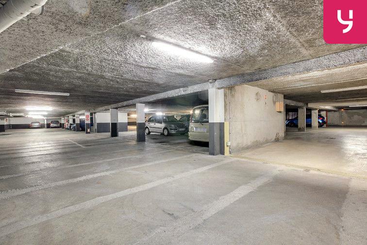 Les places de parking sont propres !