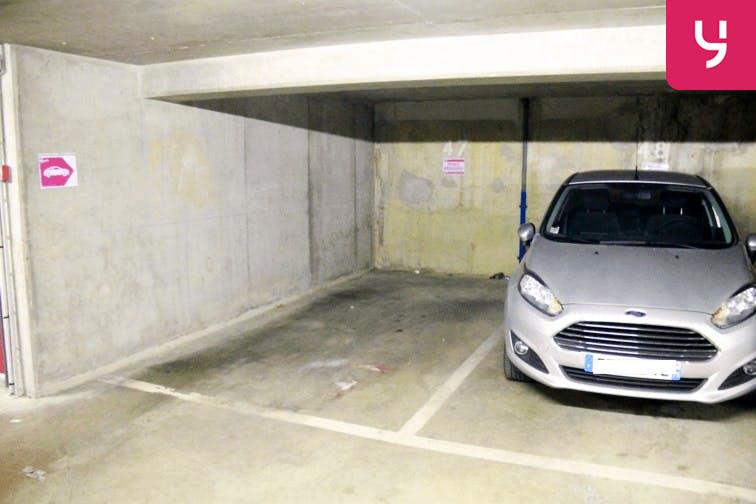 Parking Brancion caméra