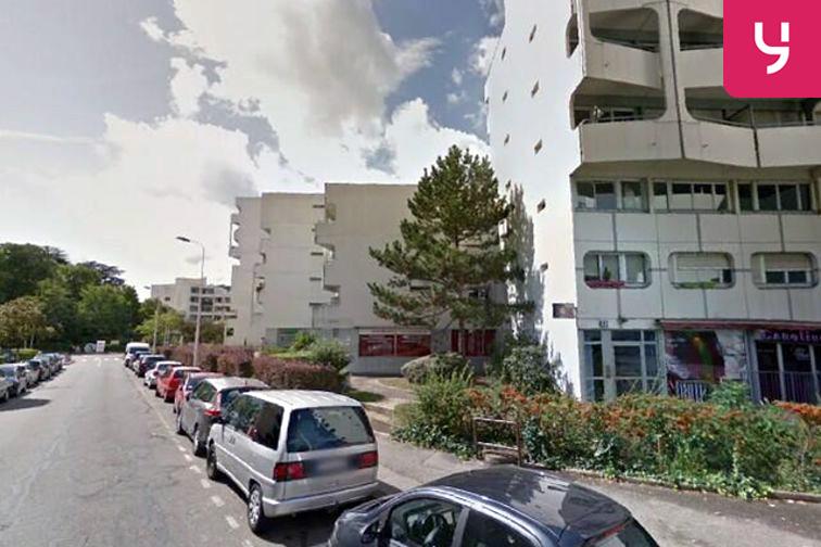 location parking Parc de la Chapelle - Lyon 9 (aérien)