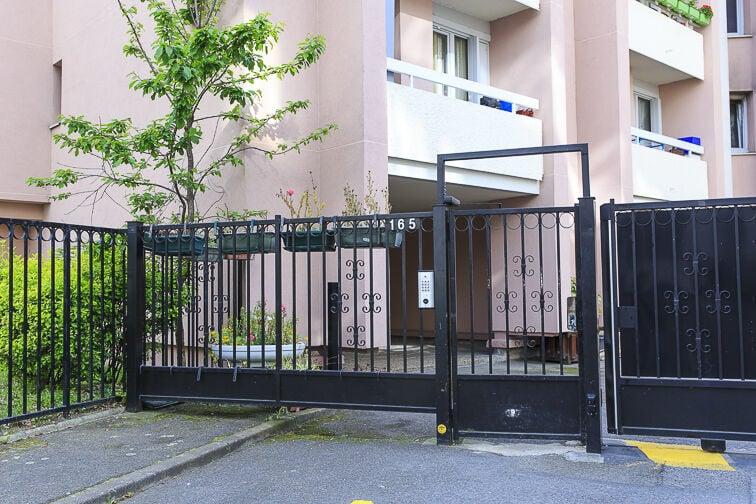 Parking Chevaleret - Dunois sécurisé