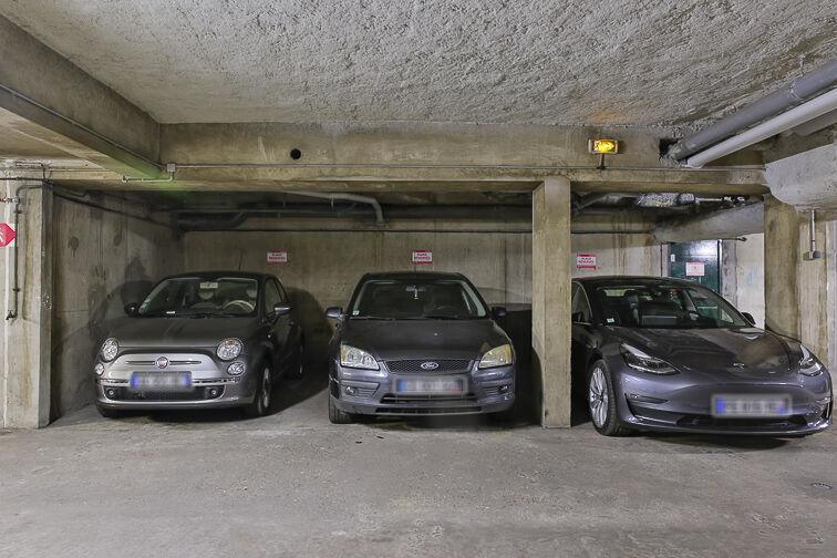 Parking Chevaleret - Dunois souterrain