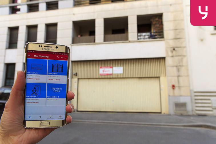 location parking Neuilly-Casteres - Clichy - Entrée de Ville (place double)