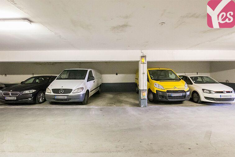 Parking Porte de Pantin - Le Pré-Saint-Gervais gardien