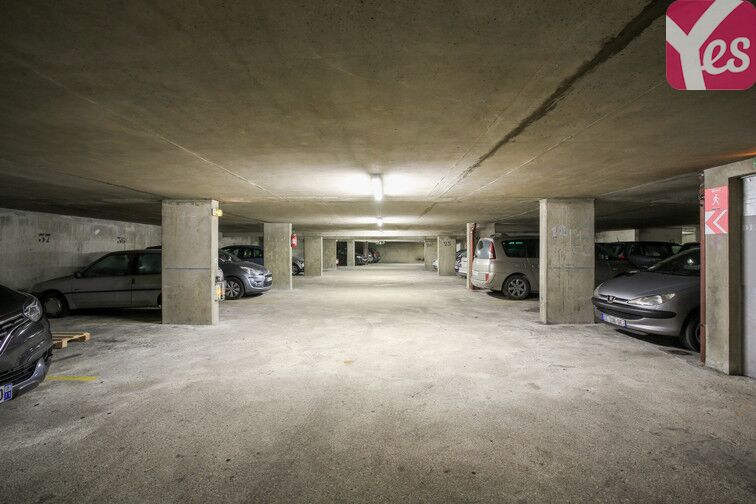 Parking Amiral Roussin - Necker- Paris 15 gardien