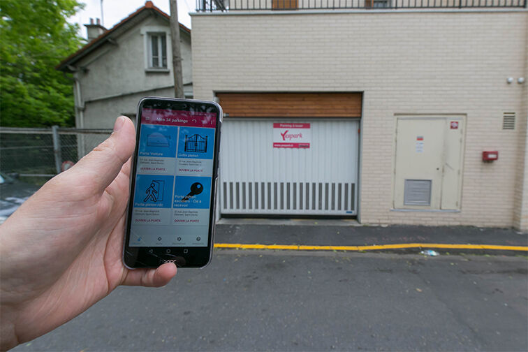 location parking Rue Jean-Baptiste Clément - Saint-Denis
