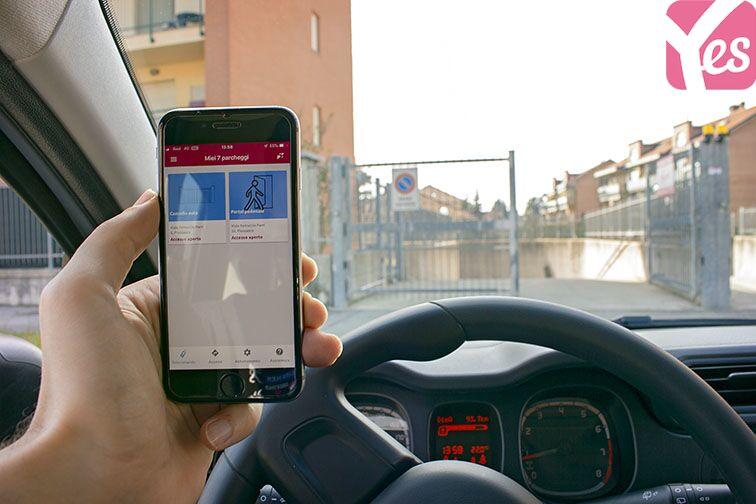 Parcheggio Piossasco - Viale Parri box