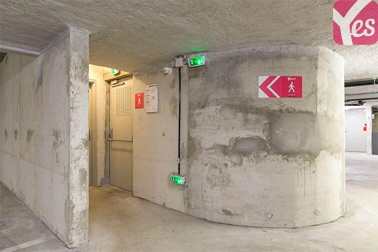 Parking Rue Carnot - Centre-ville - Les Mureaux sécurisé