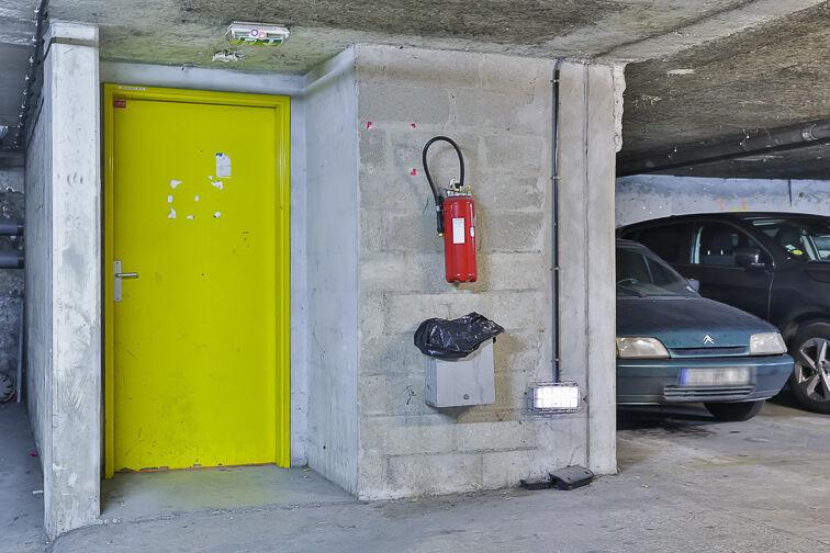 Parking Olivier Métra caméra