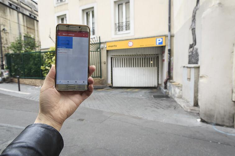 location parking Gare de l'Est