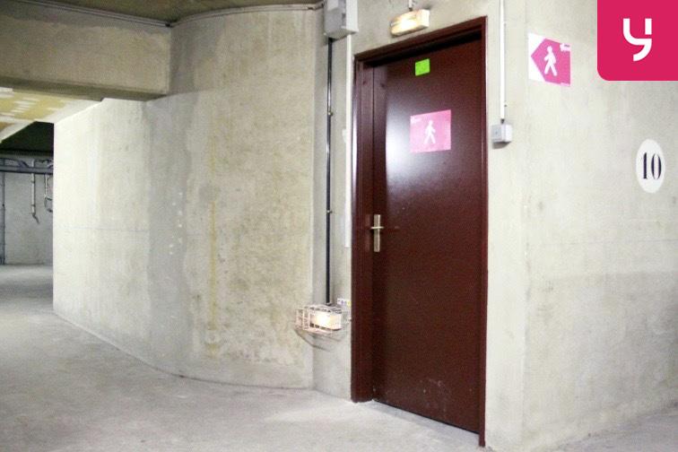 Parking Voltaire - Saint-Ambroise souterrain
