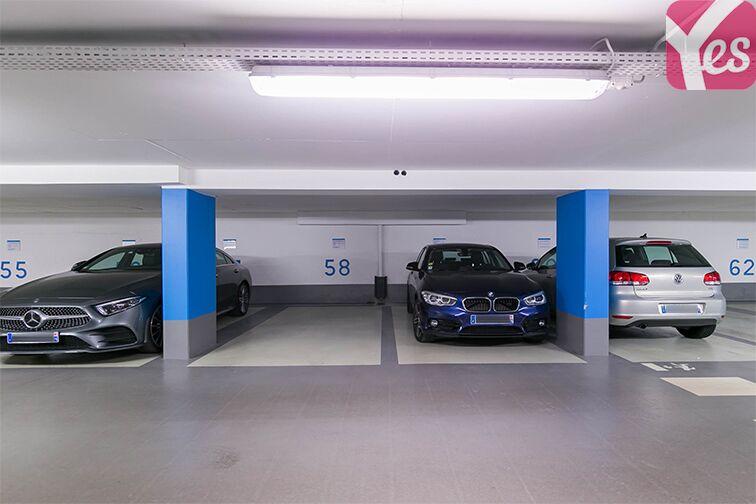 Parking Boulevard des Italiens - Paris 9 location mensuelle