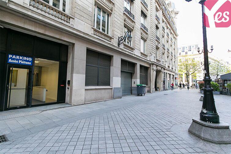 Parking Boulevard des Italiens - Paris 9 pas cher