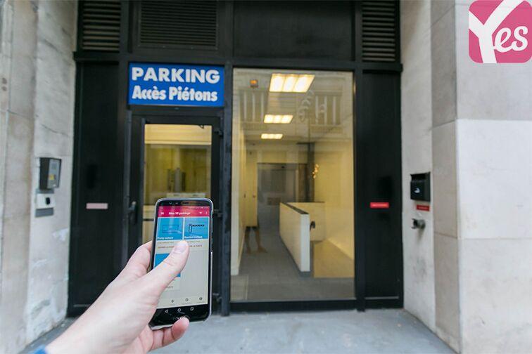 Parking Boulevard des Italiens - Paris 9 location