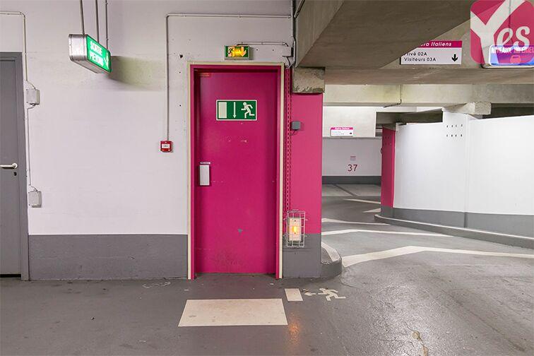 Parking Boulevard des Italiens - Paris 9 gardien