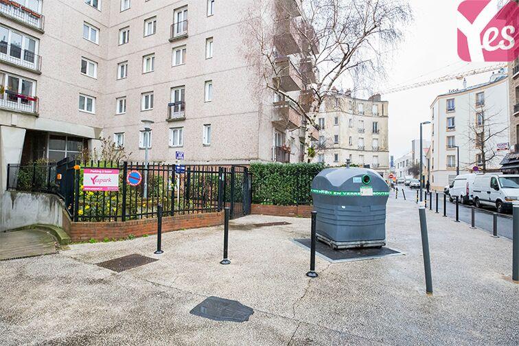 Parking Allée du 8 mai 1945 - Métro Mairie de Saint-Ouen souterrain