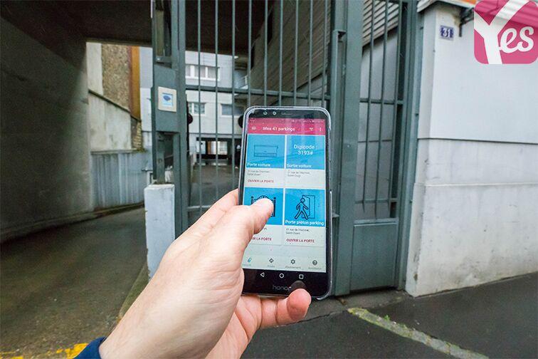 Parking Rue de l'Hermet - Mairie - Saint-Ouen sécurisé