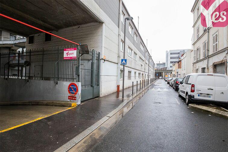 Parking Rue de l'Hermet - Mairie - Saint-Ouen gardien