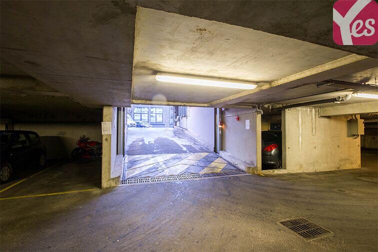 Parking Collège Joséphine Baker - Saint-Ouen caméra