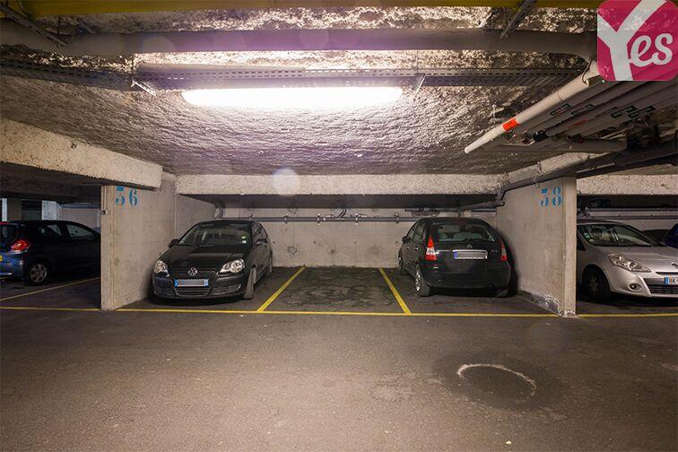 Parking Collège Joséphine Baker - Saint-Ouen 36 rue de Blanqui
