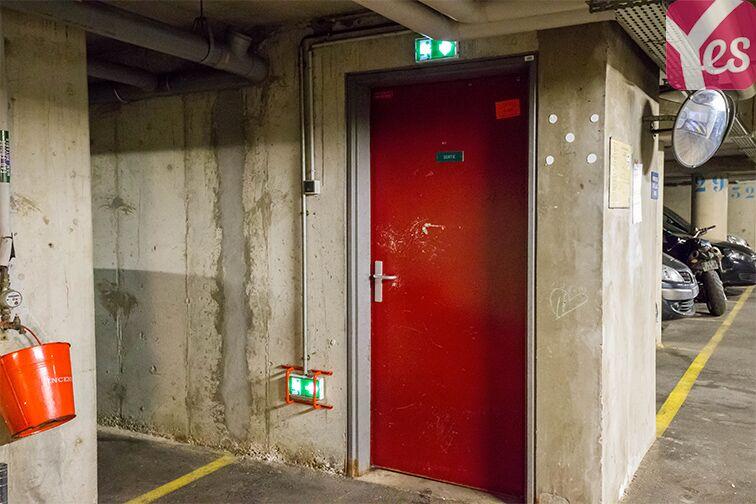 Parking Collège Joséphine Baker - Saint-Ouen sécurisé