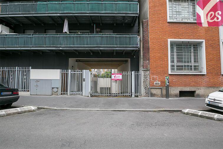 Parking Dieumegard - Métro Garibaldi - Saint-Ouen caméra