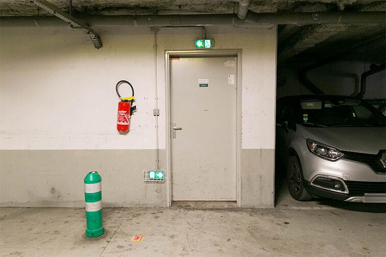 Parking Val d'Europe - Serris souterrain