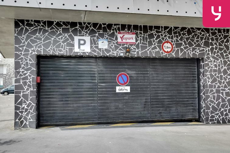 Parking Quai de Choisy - Avenue Guynemer souterrain