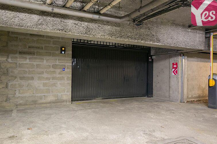 Parking Rue Bruneseau - Paris 13 sécurisé