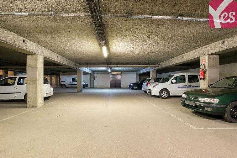 Parking Rue Bruneseau - Paris 13 caméra